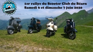 1er Rallye du Scooter Club du Béarn