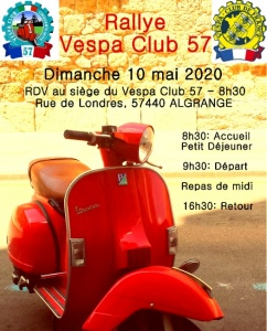 2ème Rallye du Vespa Club Cinquanta Sette